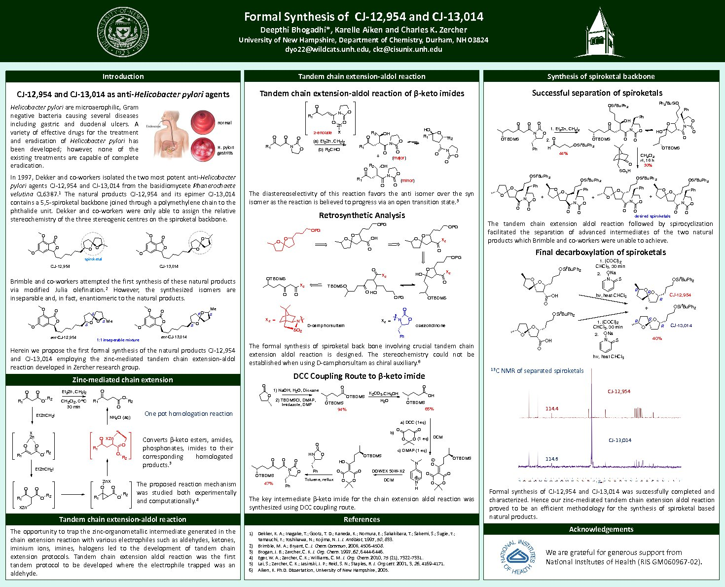 Formal Synthesis Of Cj-12,954 And Cj-13,014 by Achintya