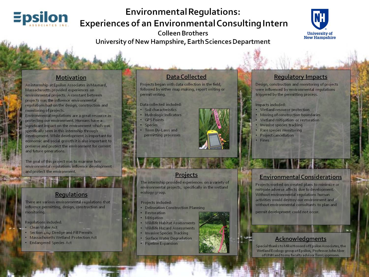 Environmental Regulations: Experiences Of An Environmental Consulting Intern  by cec92
