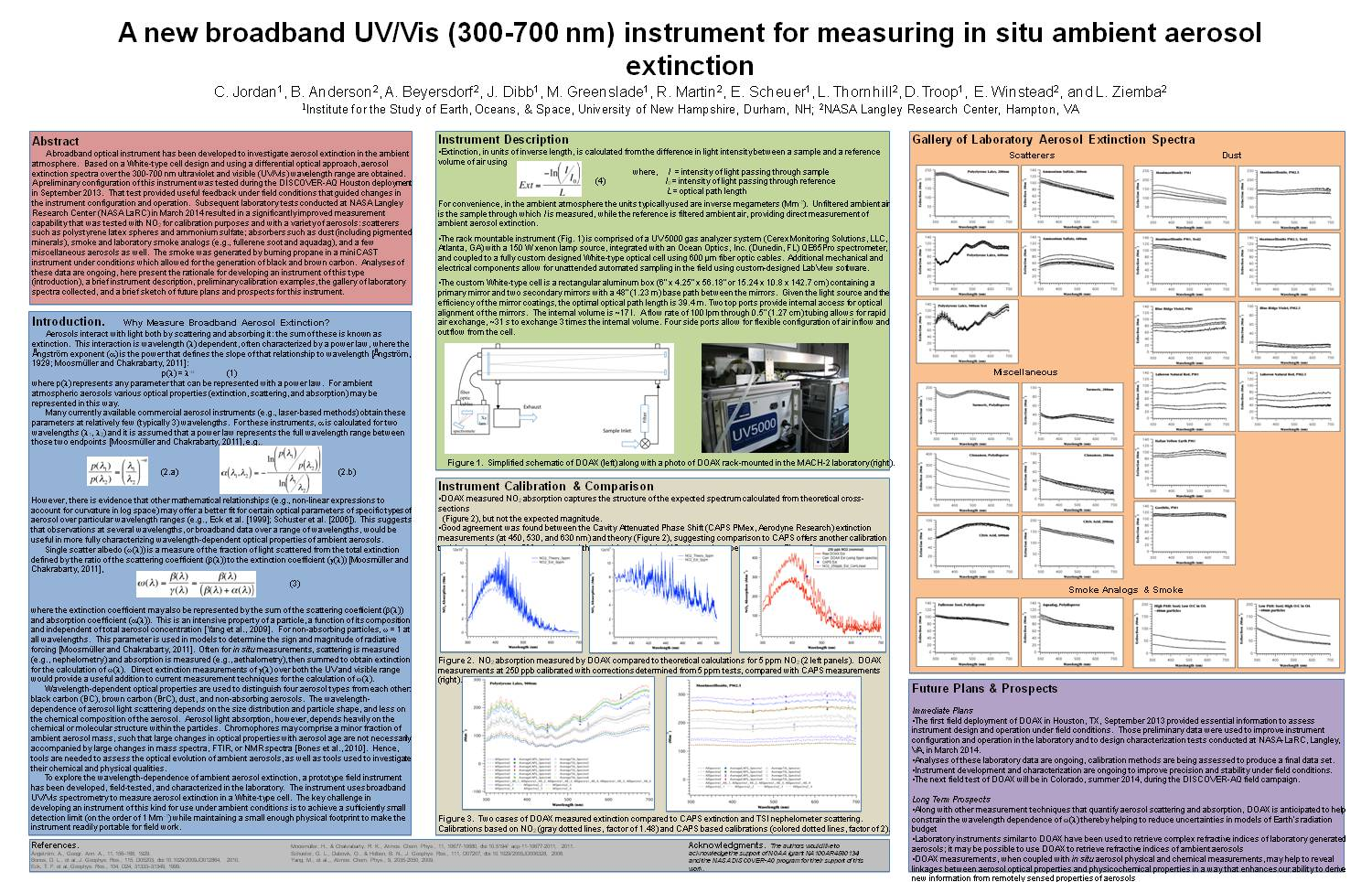 A New Broadband Uv/Vis (300-700 Nm) Instrument For Measuring In Situ Ambient Aerosol Extinction by CEJordan