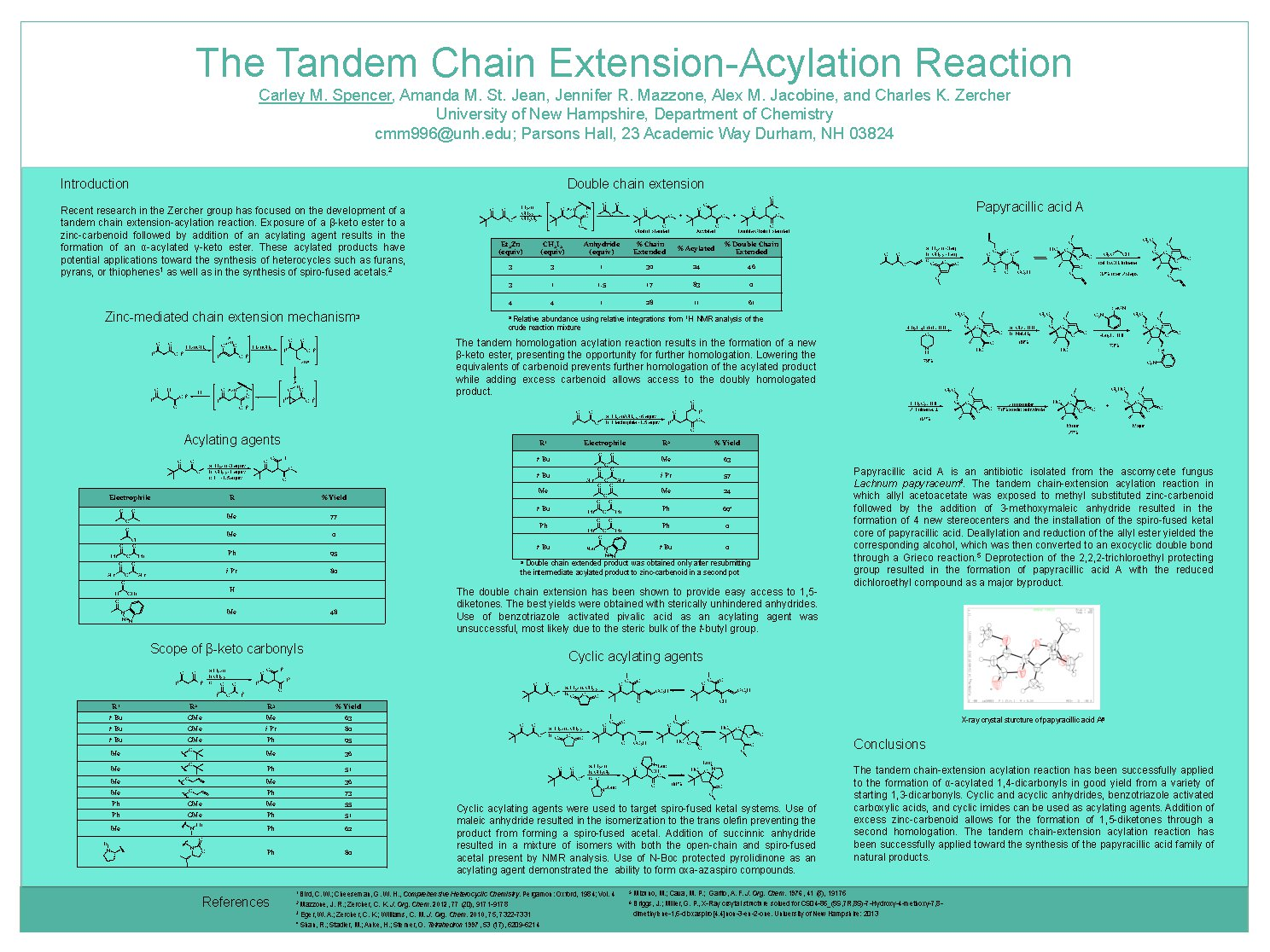 The Tandem Chain Extension Acylation Reaction by cmm996