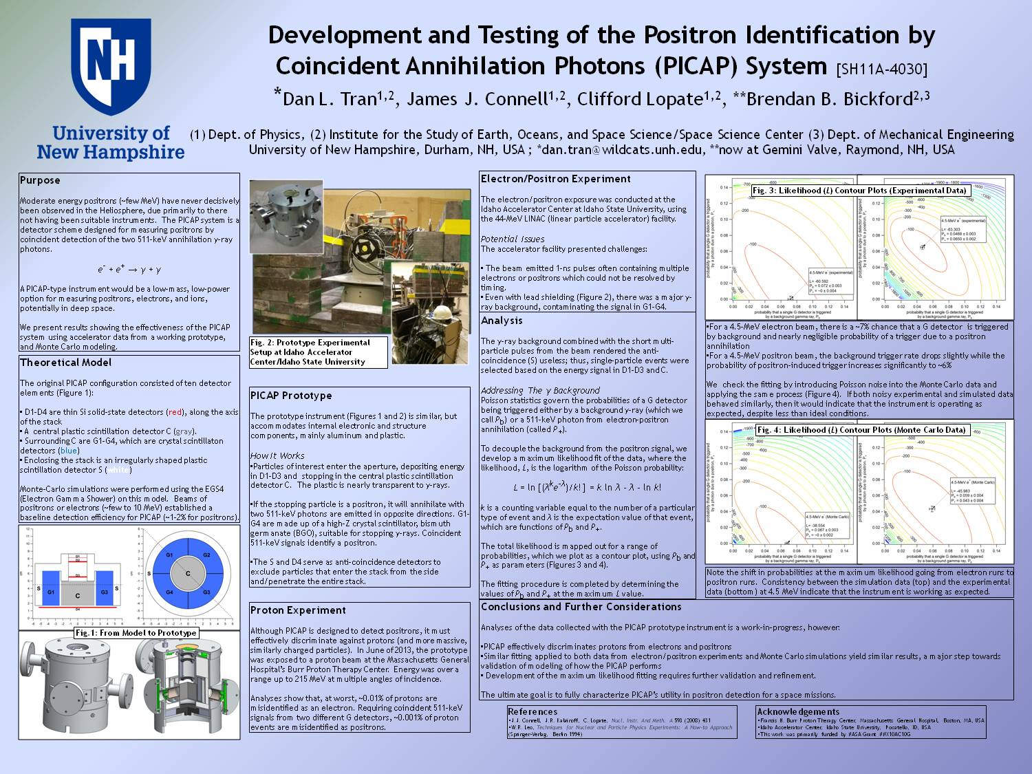 Development And Testing Of The Positron Identification By Coincident Annihilation Photons (Picap) System by dlr38