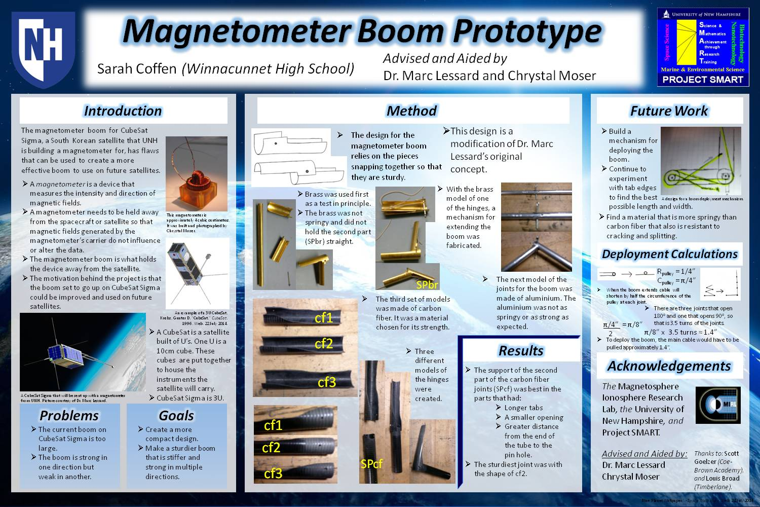 Magnetometer Boom by CWSmith