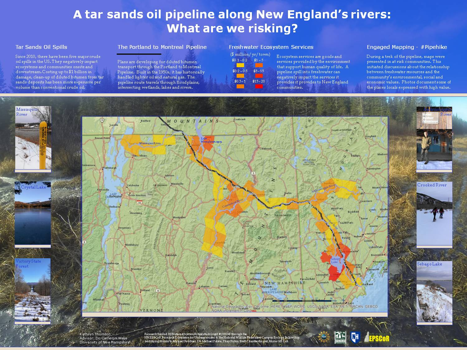 What Are We Risking? Oil Pipeline In New England by kpb39