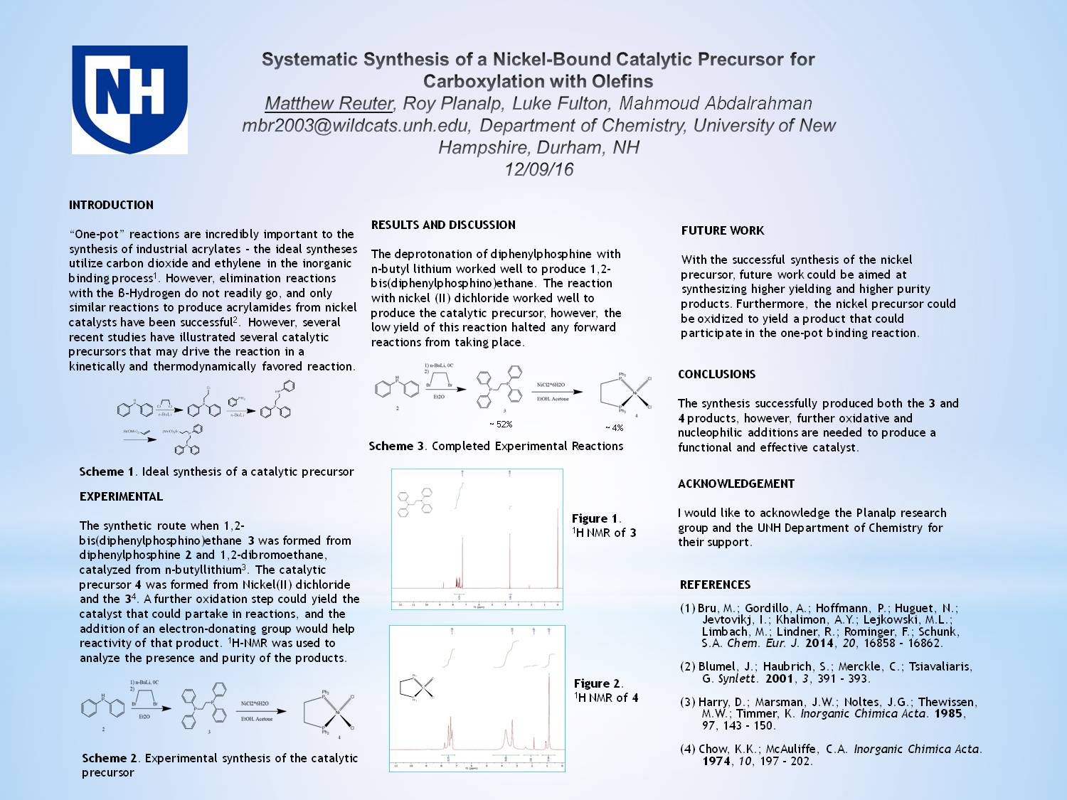 Systematic Synthesis Of A Nickel-Bound Catalytic Precursor For Carboxylation With Olefins by mbr2003