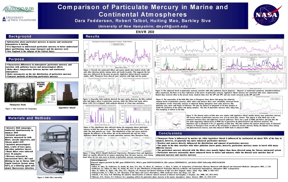 Comparison Of Particulate Mercury In Marine And Continental Atmospheres by dmy49