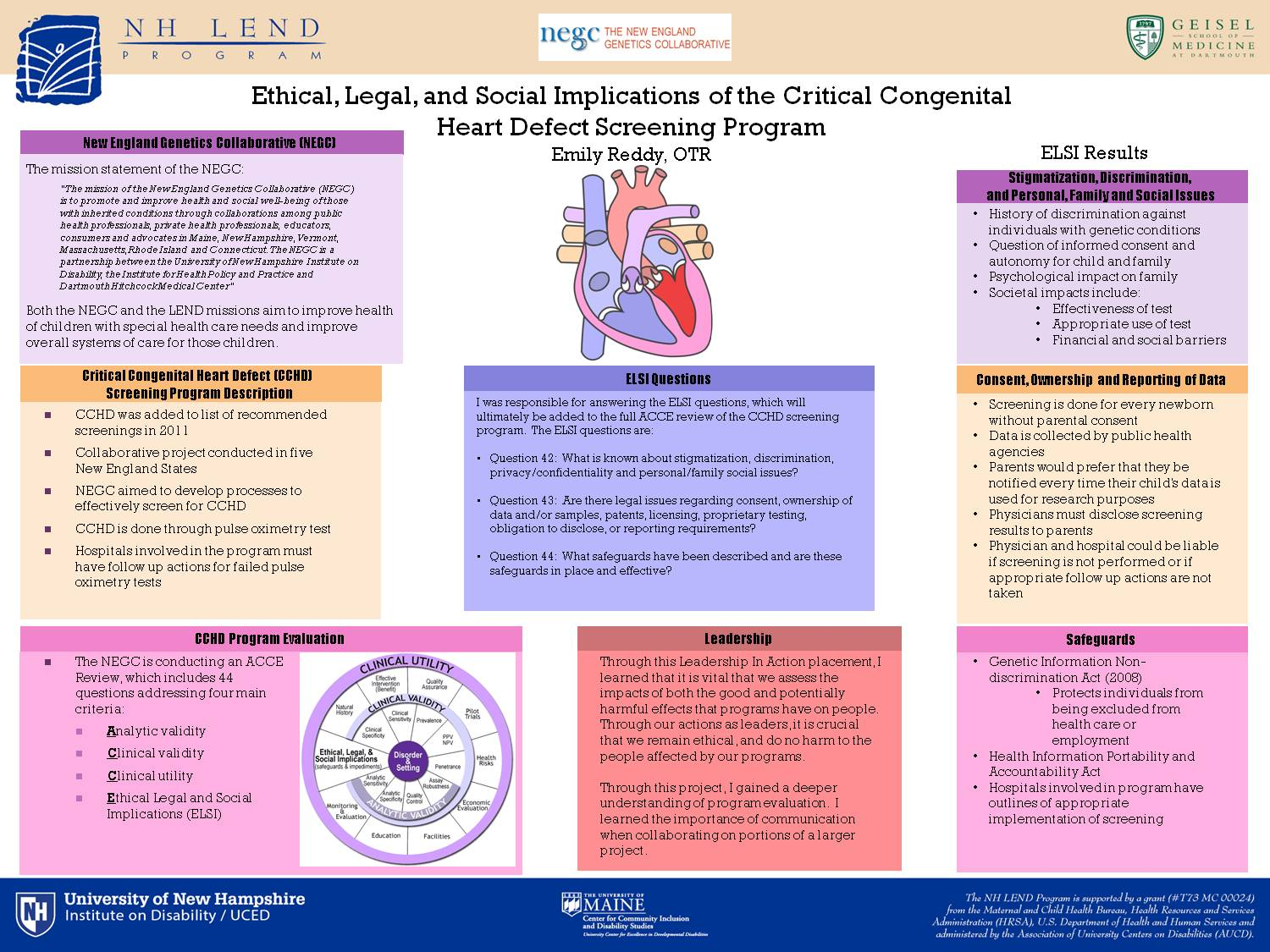 Ethical, Legal, And Social Implications Of The Critical Congenital Heart Defect Screening Program by efj9