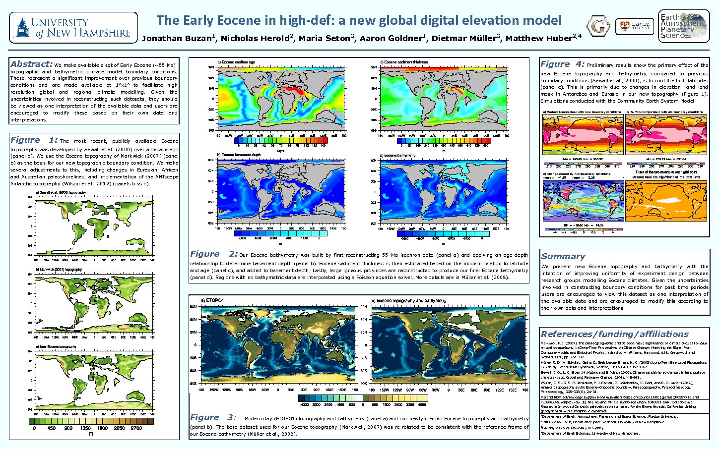 The Early Eocene In High-Def: A New Global Digital Elevation Model by heroldn