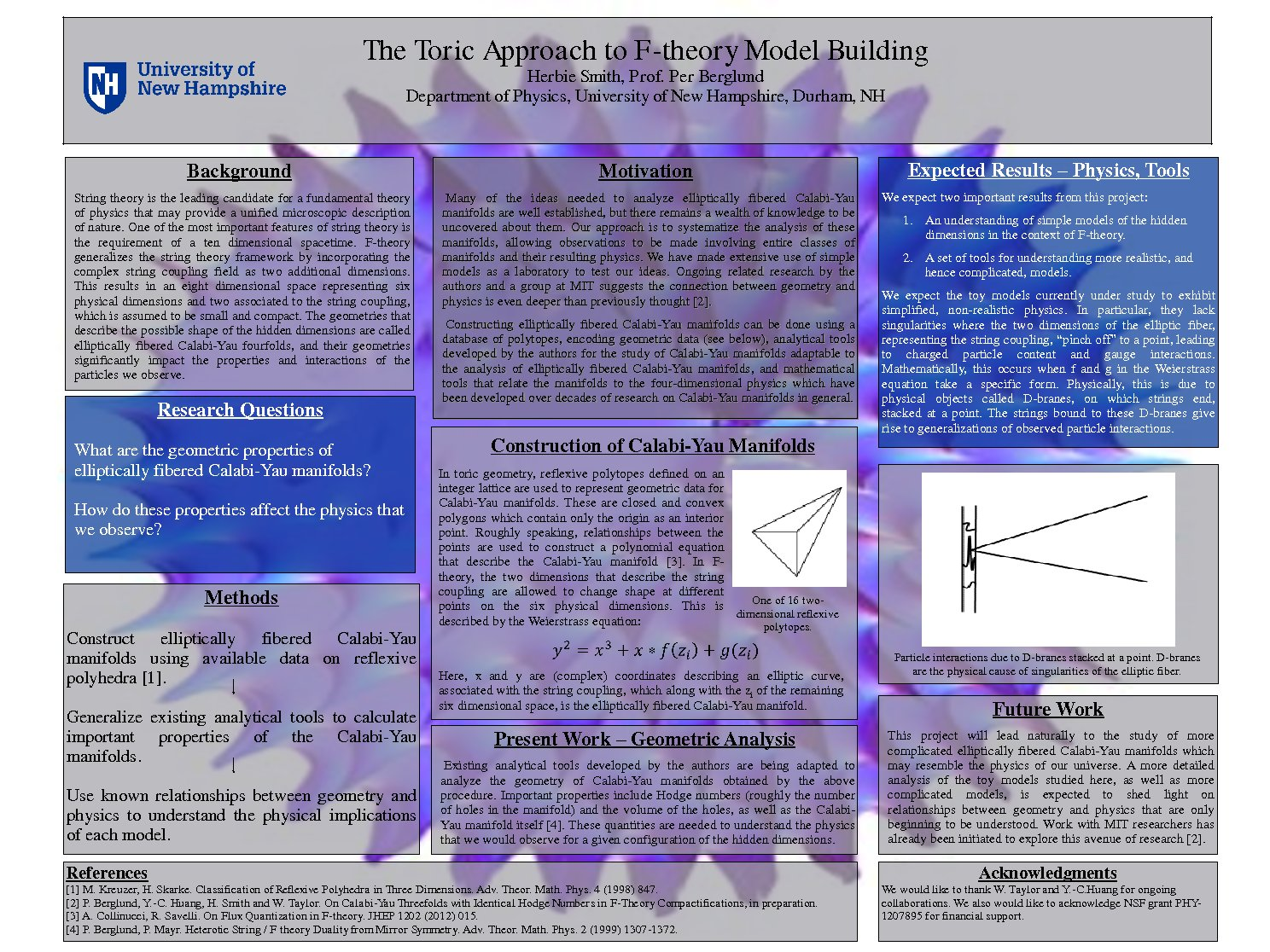The Toric Approach To F-Theory Model Building by hlk25