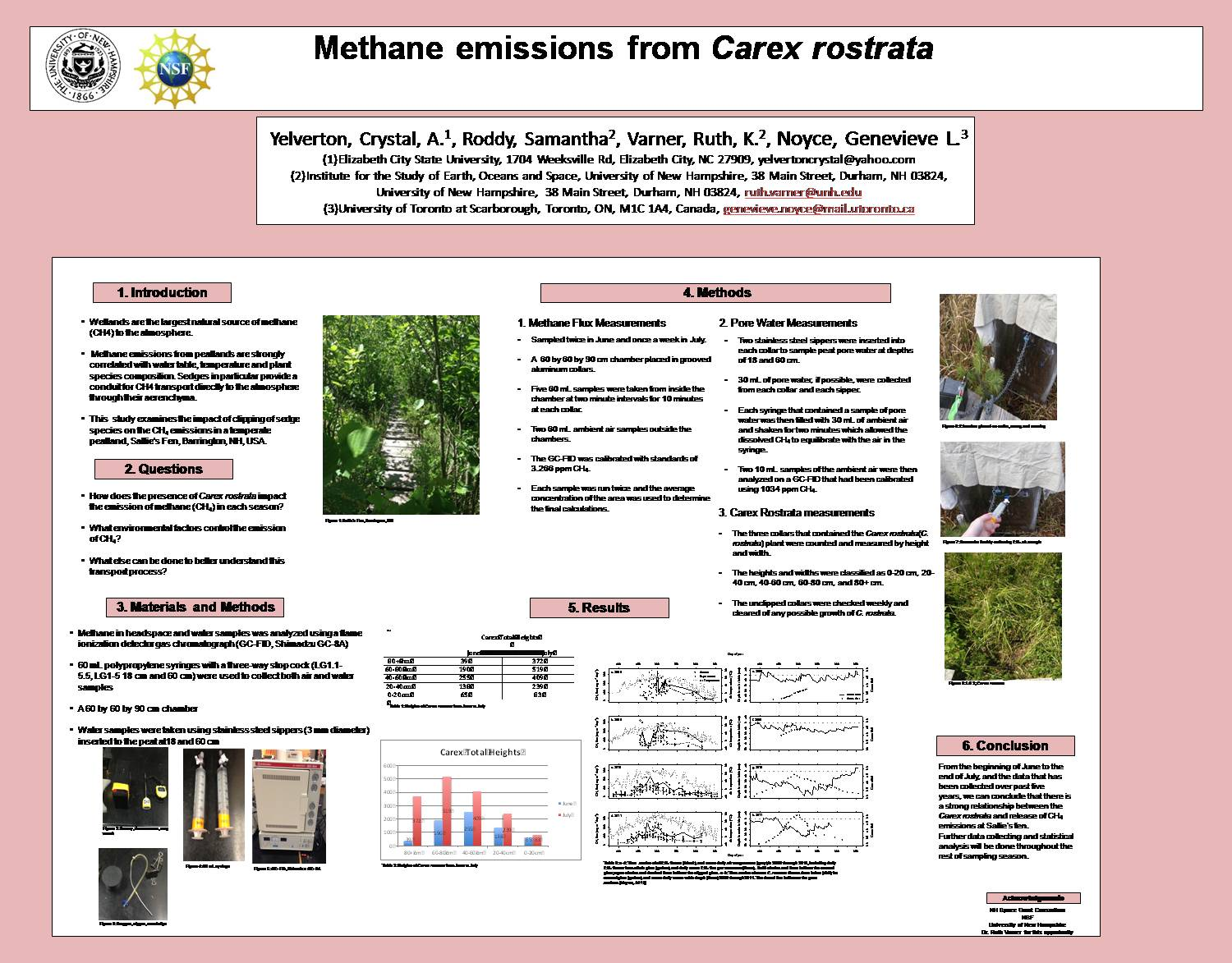 Methane Emissions From Carex Rostrata by Yelverton_C