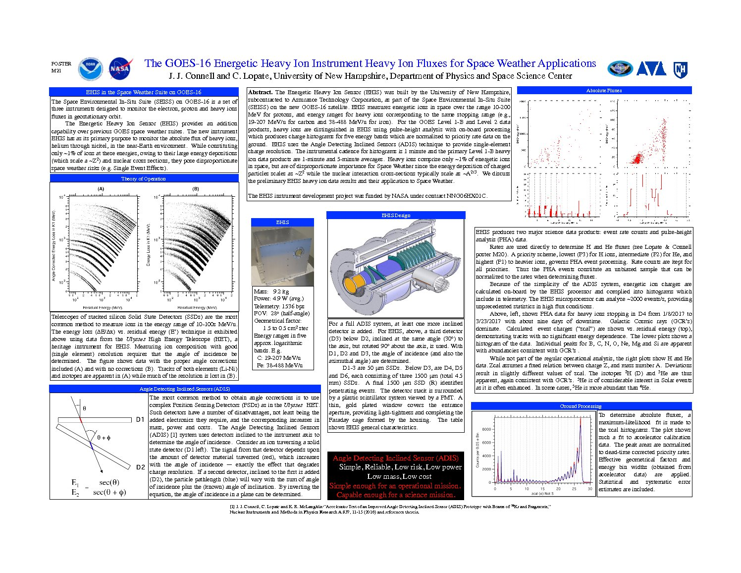 The Goes-16 Energetic Heavy Ion Instrument Heavy Ion Fluxes For Space Weather Applications by jjconnell