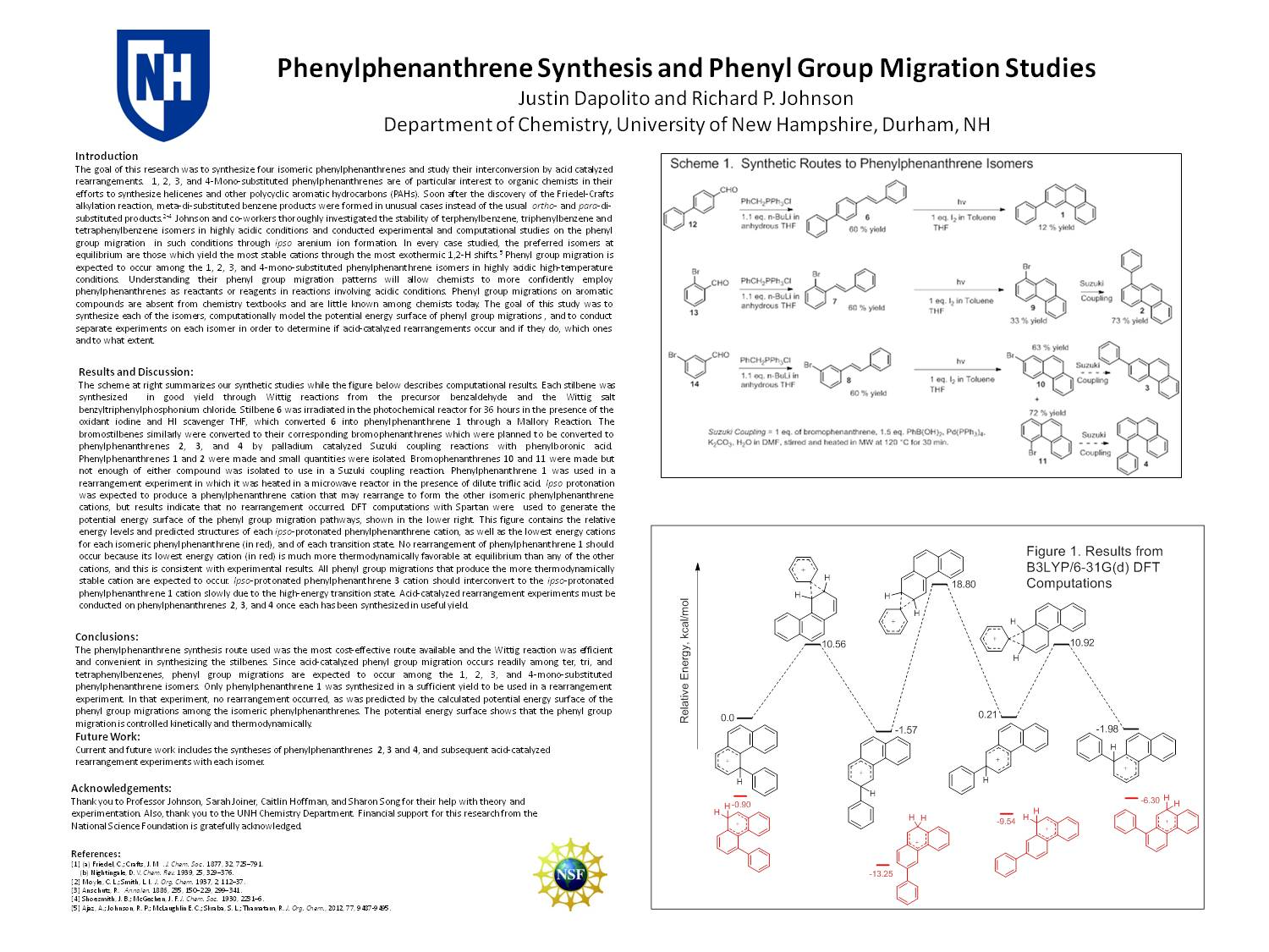 Phenylphenanthrene Synthesis And Phenyl Group Migration Studies by jmy354