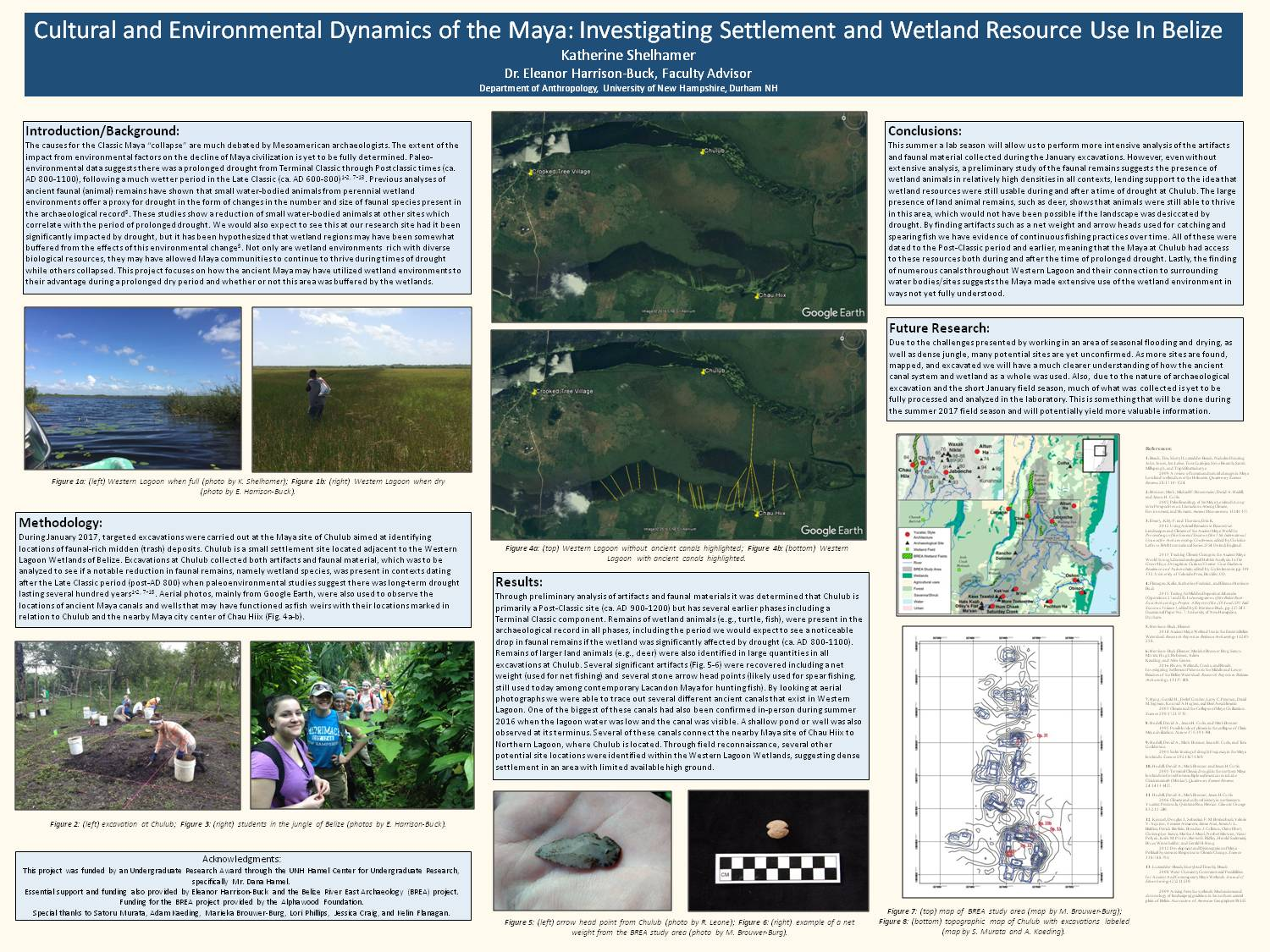 Cultural And Environmental Dynamics Of The Maya: Investigating Settlement And Wetland Resource Use In Belize by kas2023