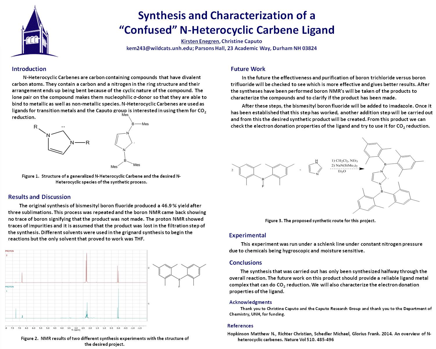 "Synthesis And Characterization Of A ""Confused"" N-Heterocyclic Carbene Ligand by kem243"