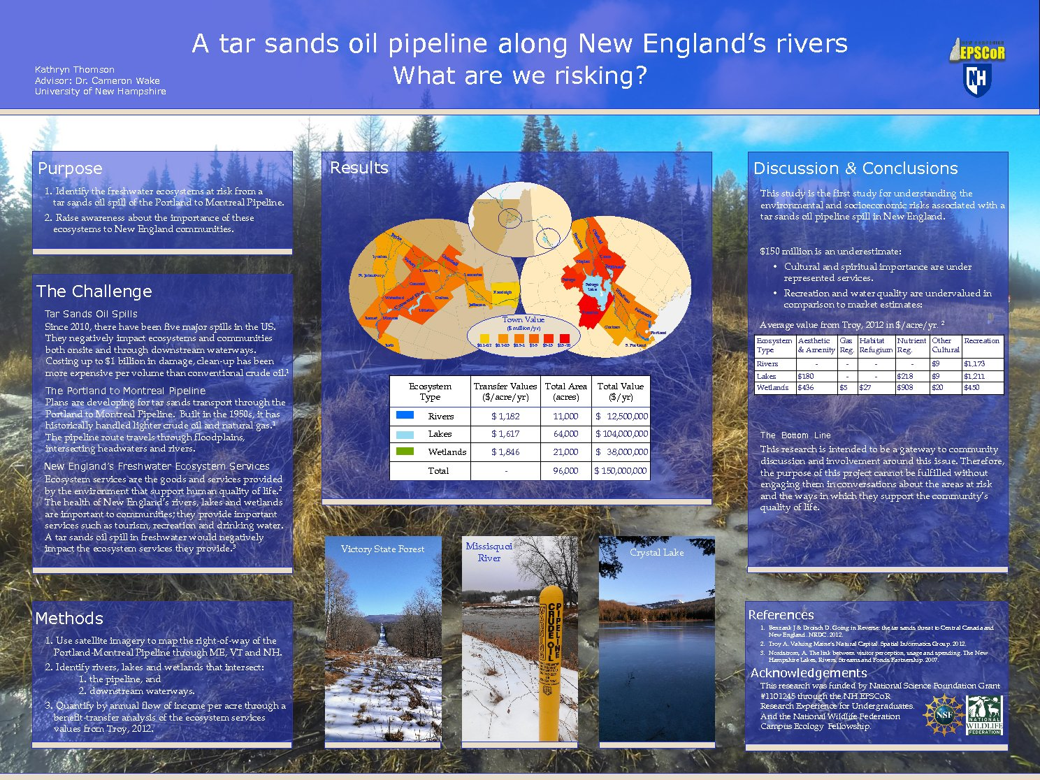A Tar Sands Oil Pipeline Along New England's Rivers - What Are We Risking? by kpb39