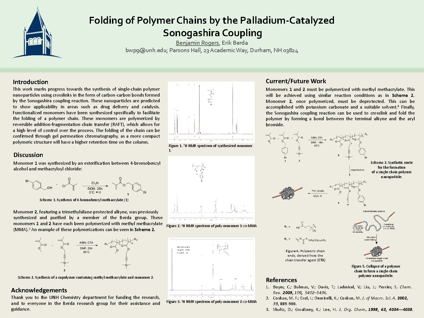 Folding Of Polymer Chains By The Palladium-Catalyzed Sonogashira Coupling by bwp9