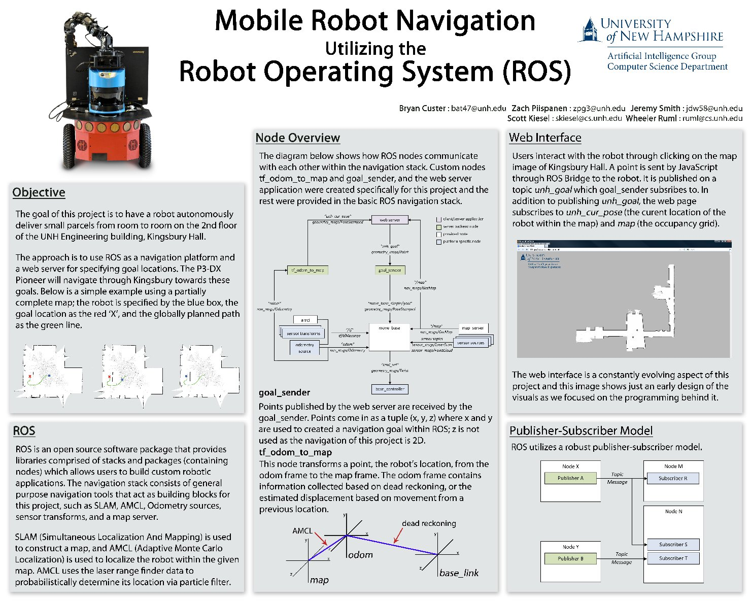 Mobile Robot Navigation Utilizing The Robot Operating System (Ros) by bat47