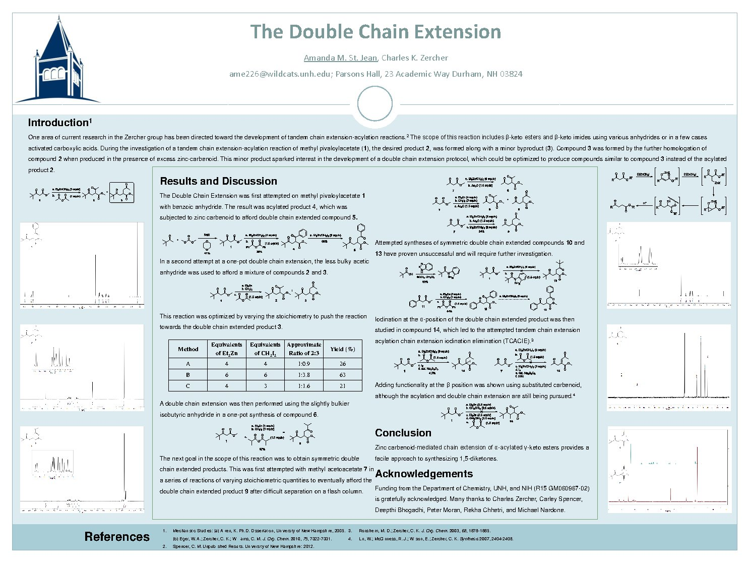 The Double Chain Extension by ame226