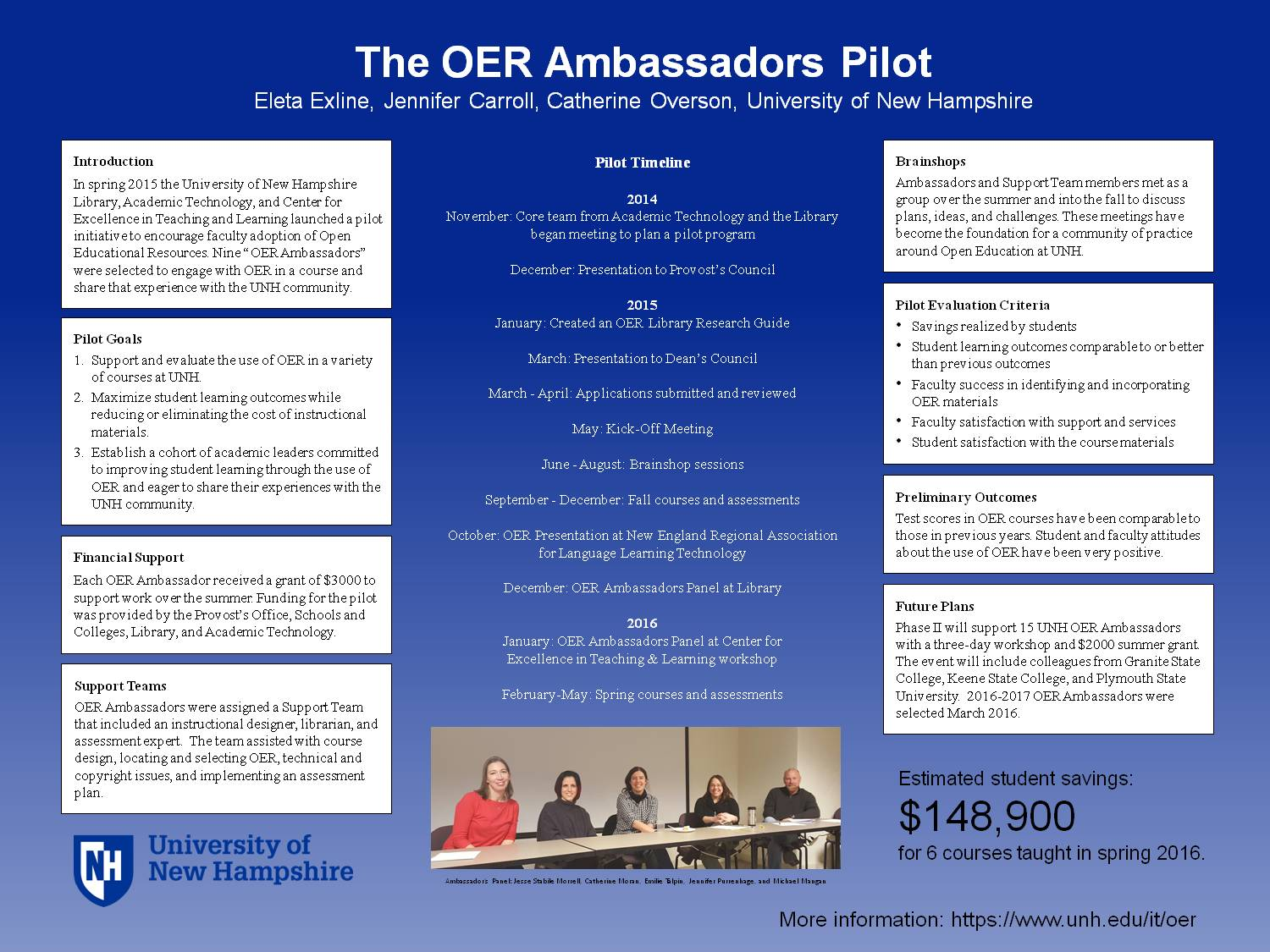 The Oer Ambassadors Pilot by eleta