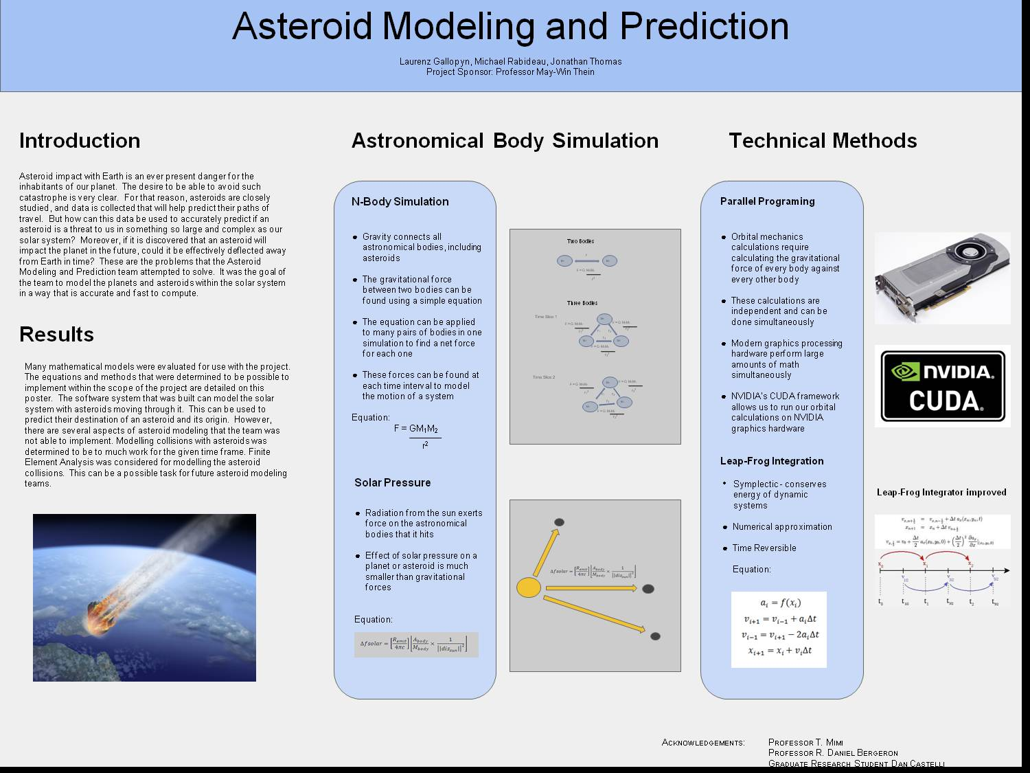 Asteroid Modeling And Prediction by MichaelRabideau