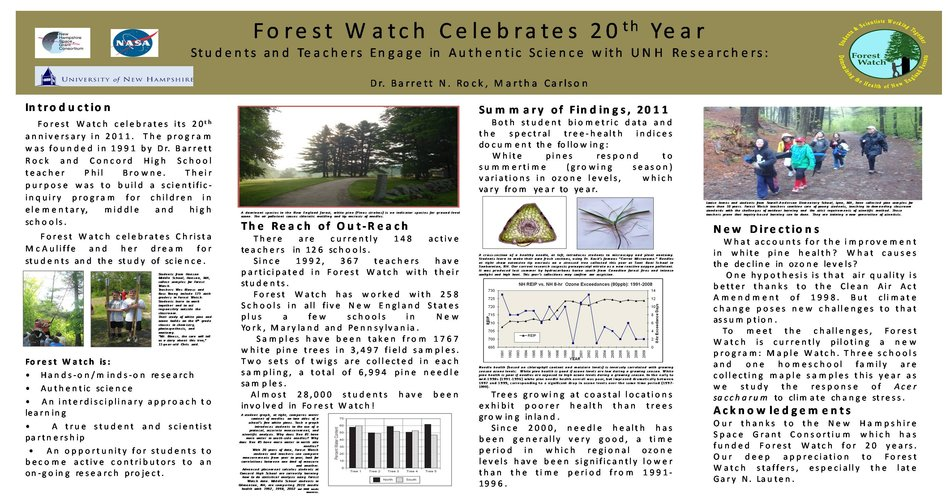 Forest Watch Celebrates 20th Year by mrg39