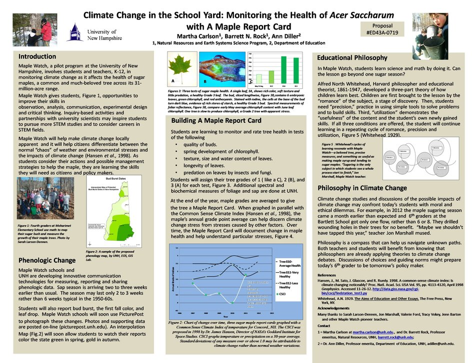 Climate Change In The School Yard, Agu 2012 by mrg39