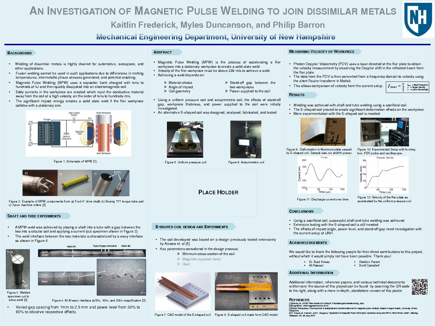 An Investigation Of Magnetic Pulse Welding To Join Dissimilar Metals by mss44