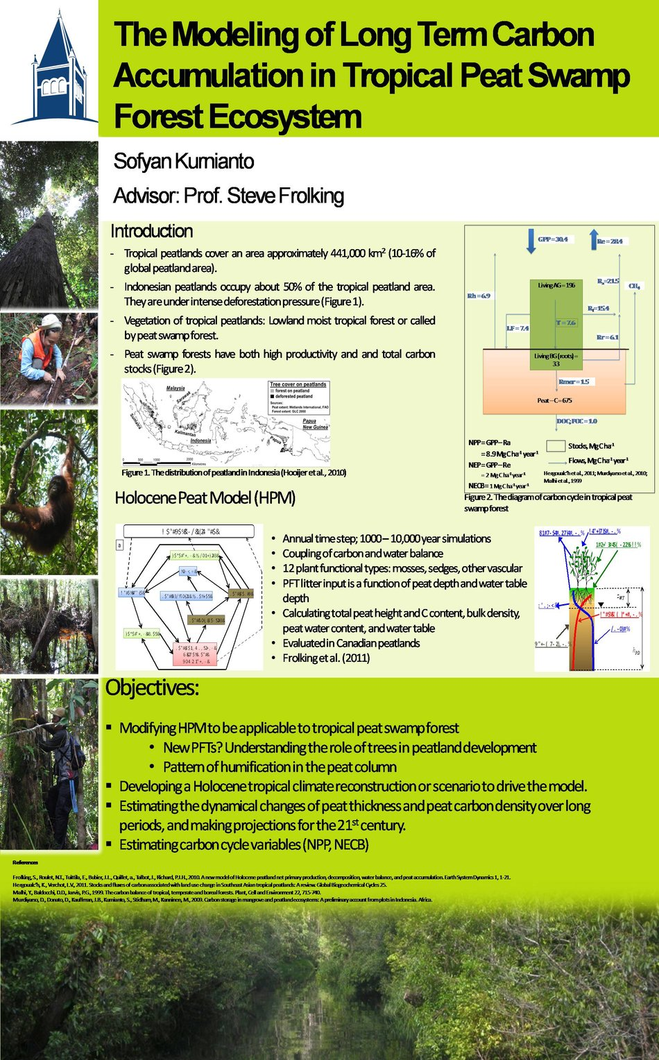 The Modeling Of Long Term Carbon Accumulation In Tropical Peat Swamp Forest Ecosystem   by skurnianto