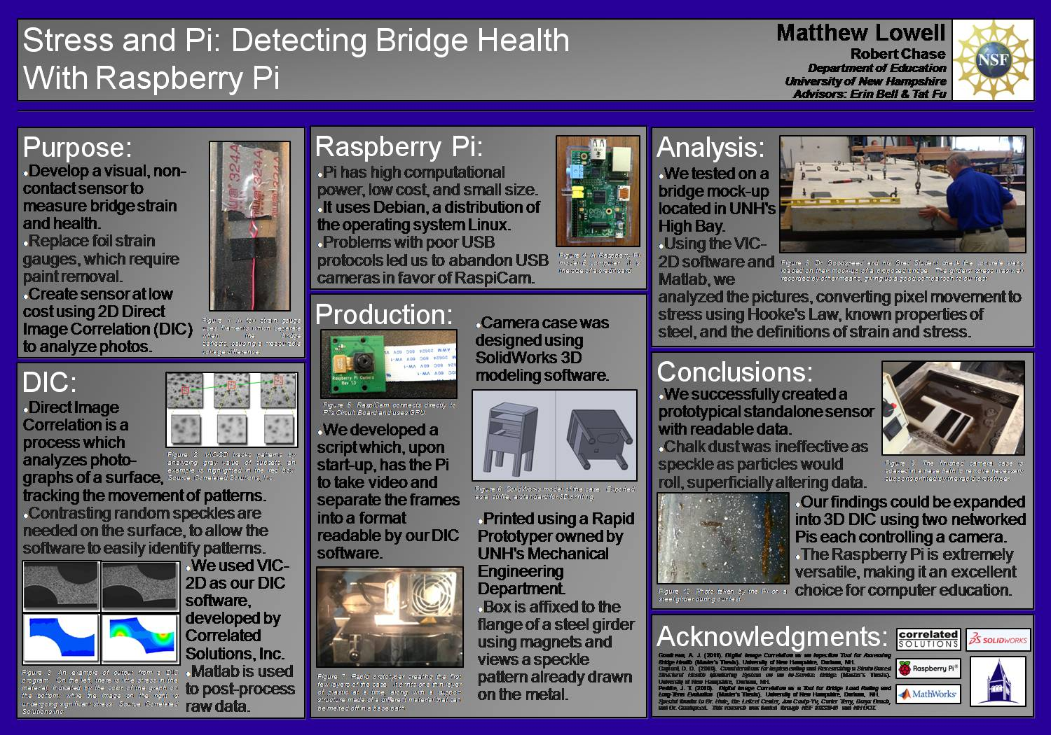 Stress And Pi: Detecting Bridge Health With Raspberry Pi by srhale