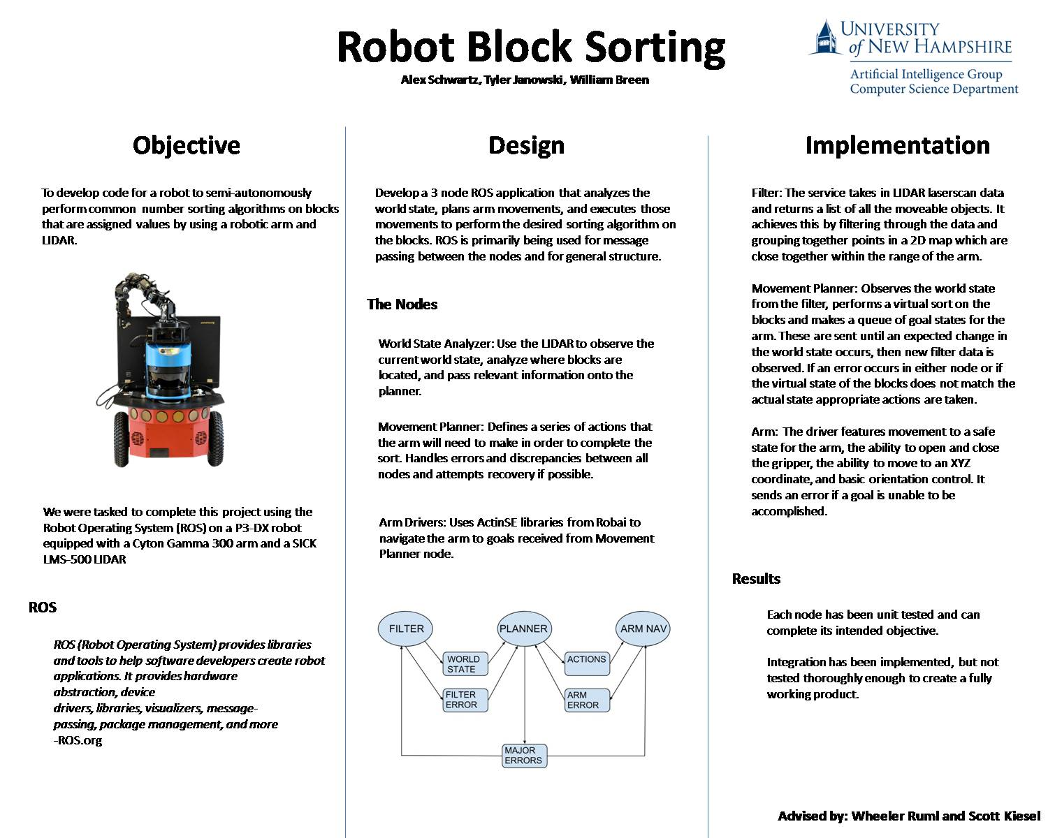 Robot Block Sorting by tri25