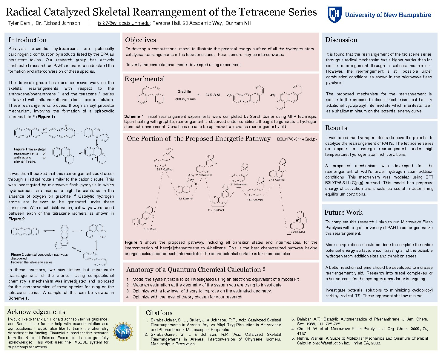 Radical Catalyzed Skeletal Rearrangement Of The Tetracene Series by tsi27
