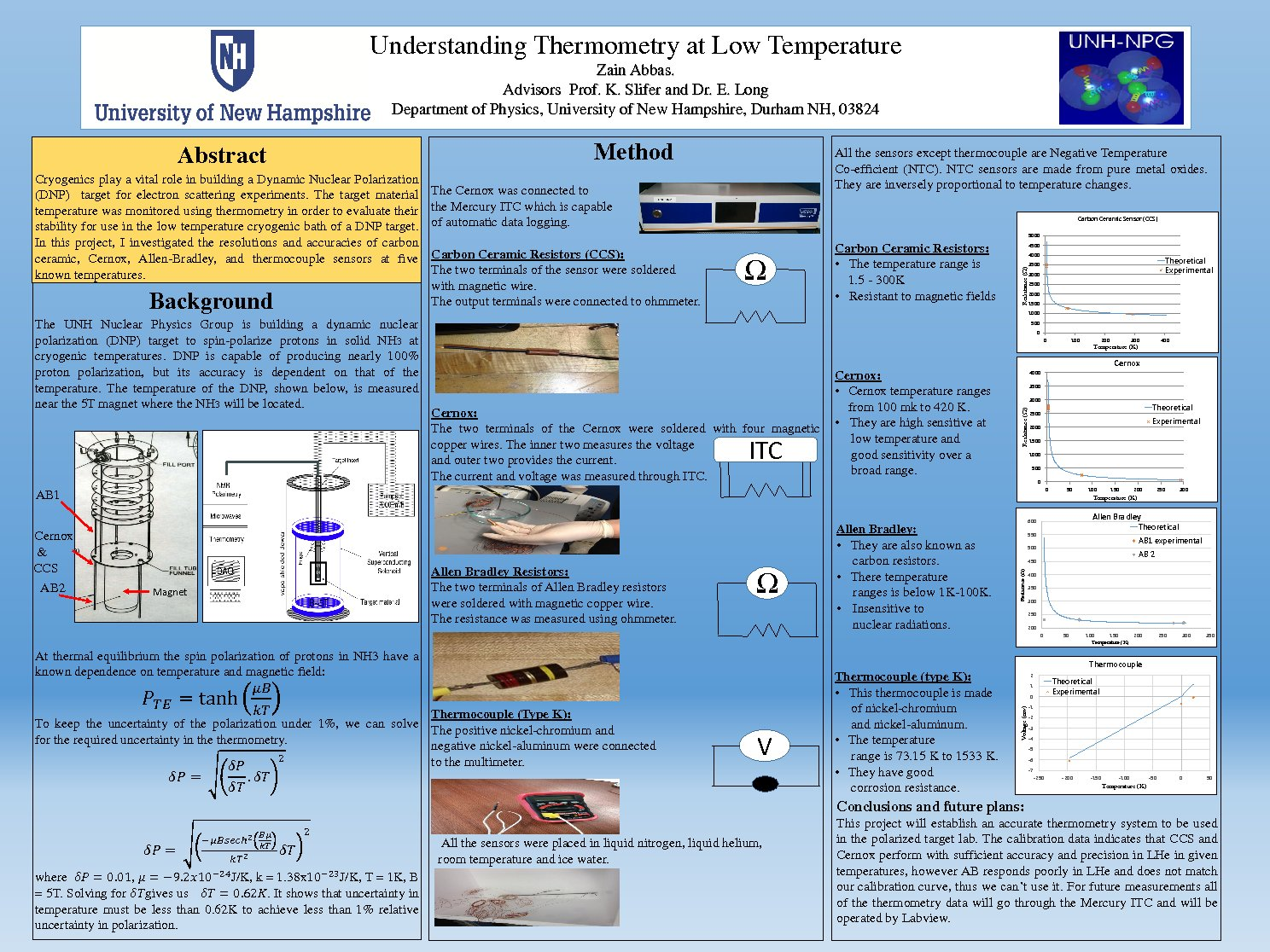 Understanding Thermometry At Low Temperature by zain123