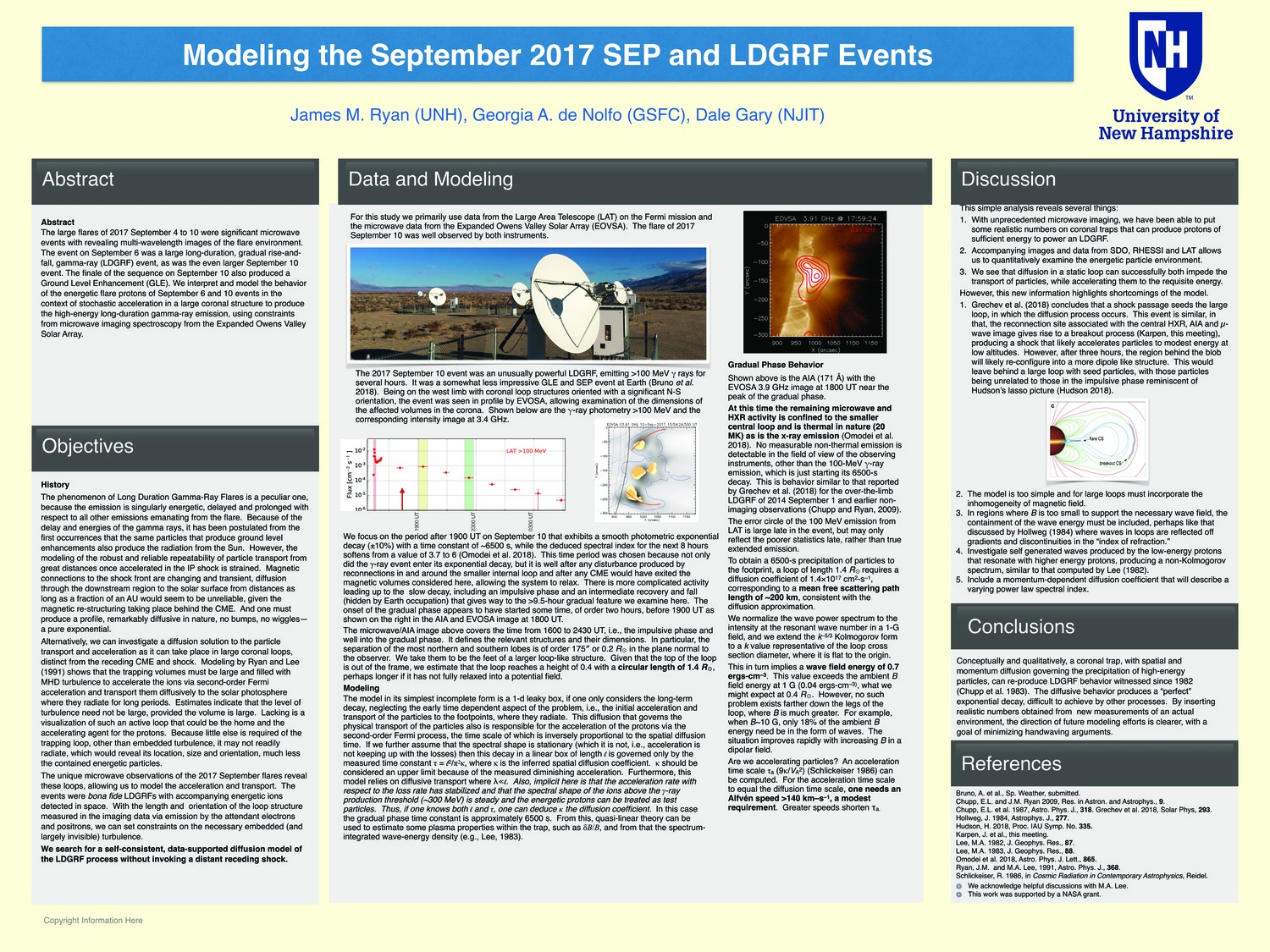 Modeling The September 2017 Sep And Ldgrf Events by jimunhryan