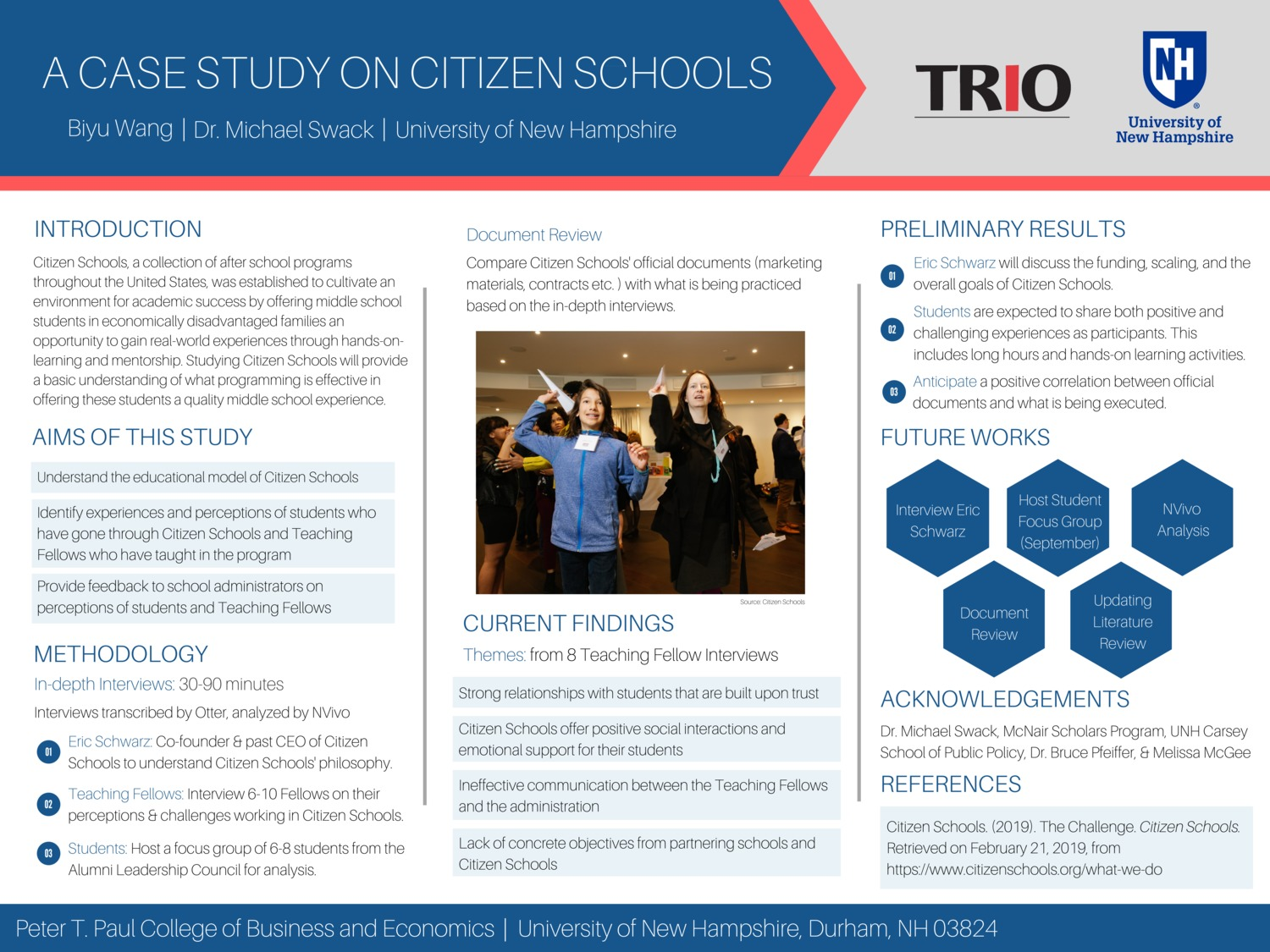 A Case Study On Citizen Schools by bw1041