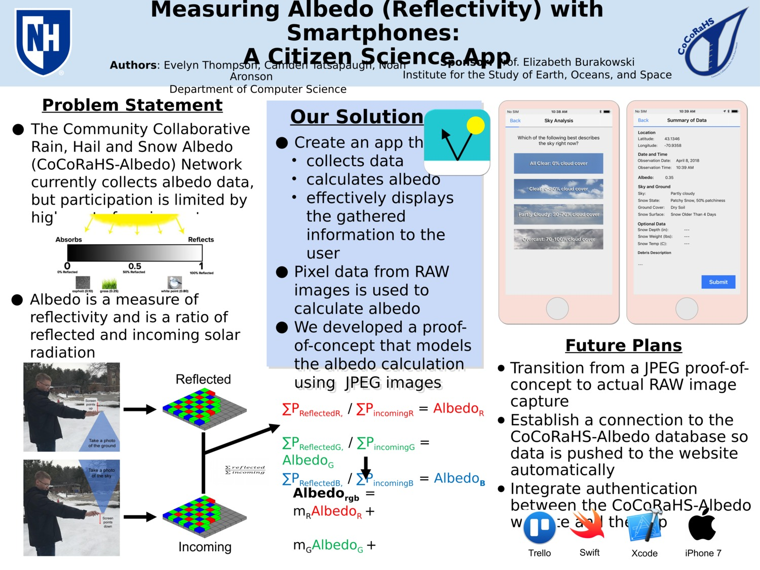 Measuring Albedo (Reflectivity) With Smartphones: A Citizen Science App by crt2004