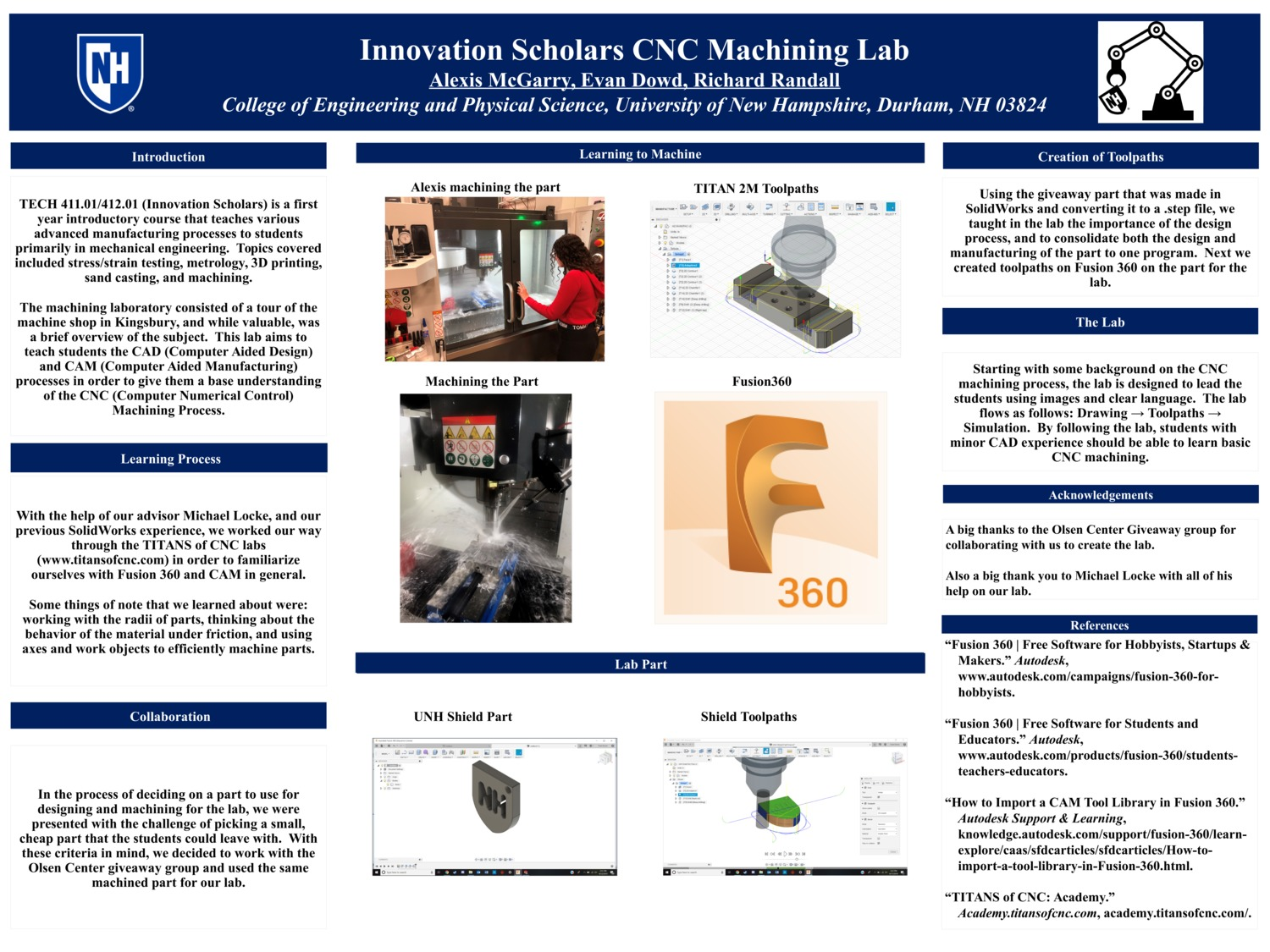 Innovation Scholars Cnc Lab by rdr1009