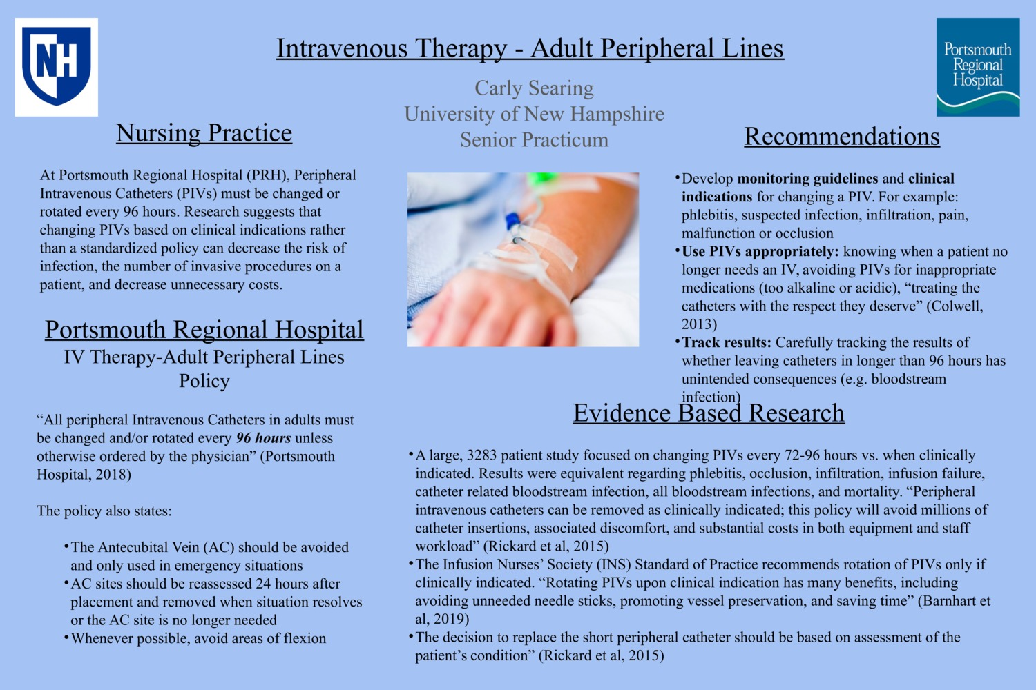 Intravenous Therapy - Adult Peripheral Lines by ces1009