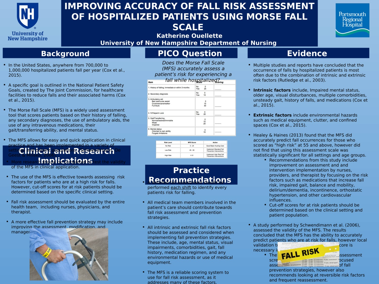 Improving Accuracy Of Fall Risk Assessment Of Hospitalized Patients Using Morse Fall Scale  by keo2002