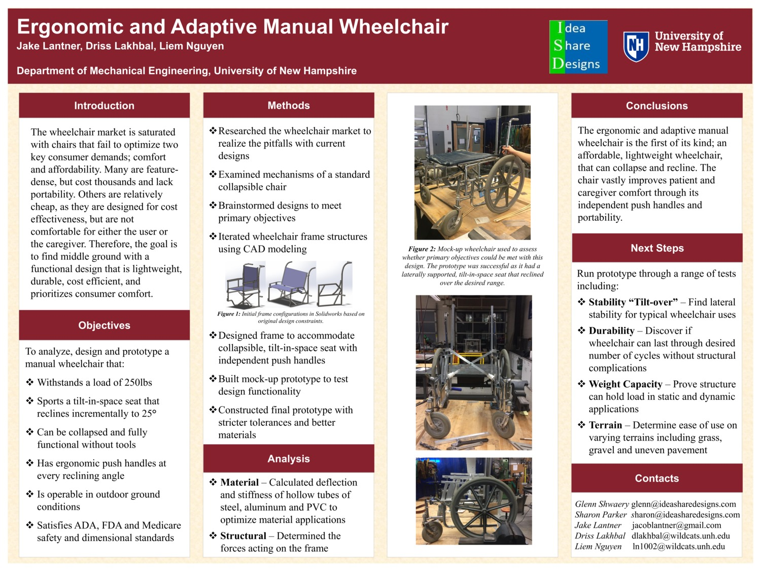 Ergonomic And Adaptive Manual Wheelchair by jel1004