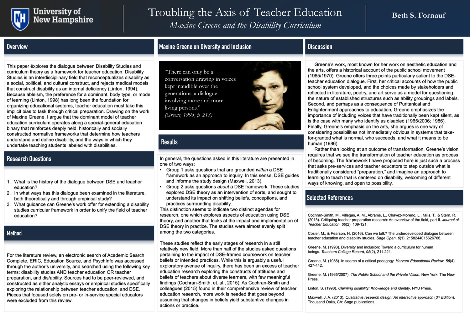 Troubling The Axis Of Teacher Education by baf24