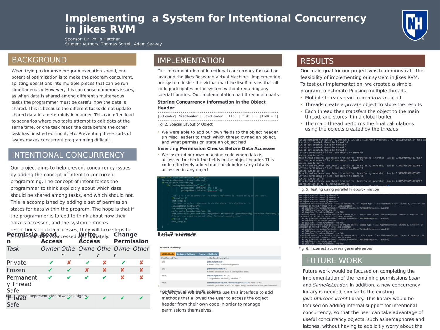 Implementing A System For Intentional Concurrency In Jikes Rvm by tgs1003