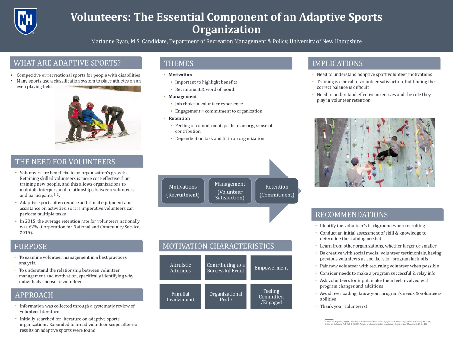 Volunteers: The Essential Component Of An Adaptive Sports Organization by mfr1003