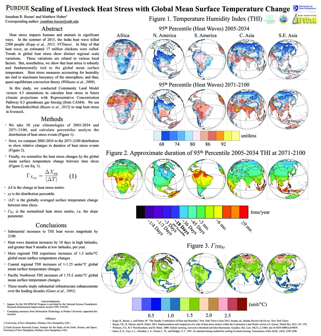 Scaling Of Livestock Heat Stress With Global Mean Surface Temperature Change by jbuzan