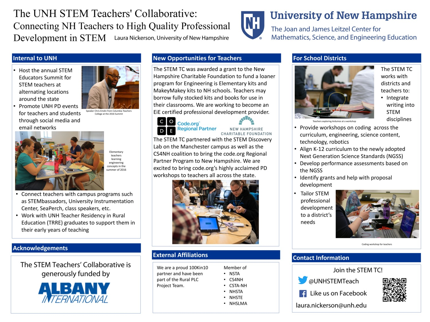Stem Tc Poster For Ne-Aste by lnickerson