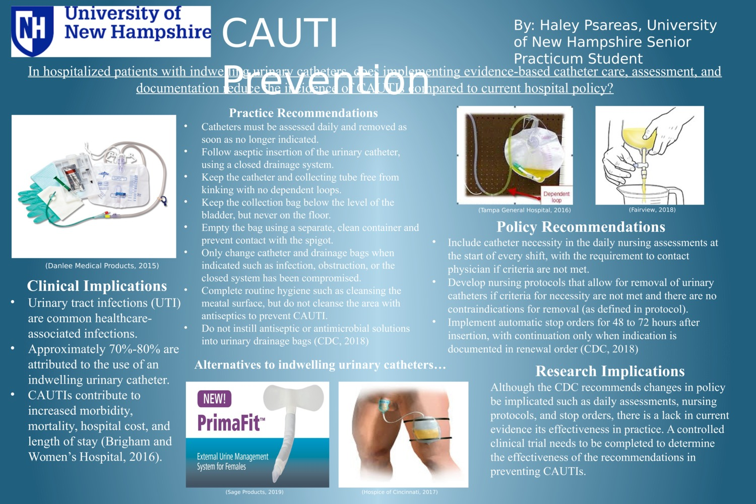 Cauti Prevention by hnp1000