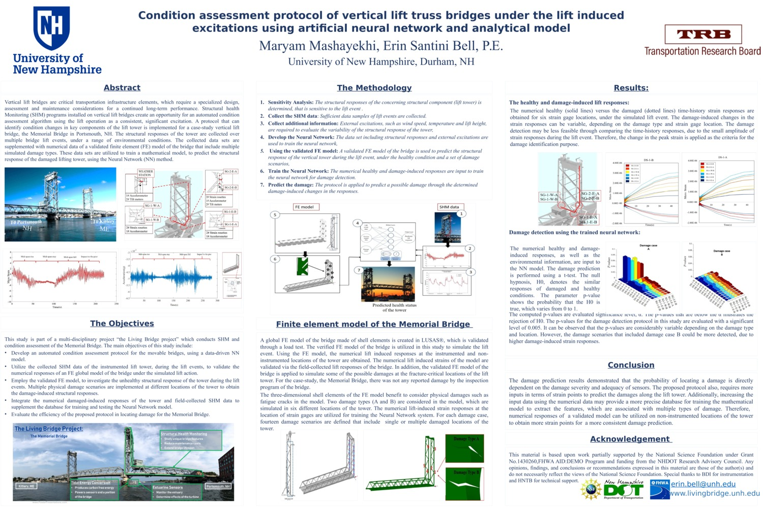 Condition Assessment Protocol Of Vertical Lift Truss Bridges Under The Lift Induced Excitations Using Artificial Neural Network And Analytical Model by mashayekhi