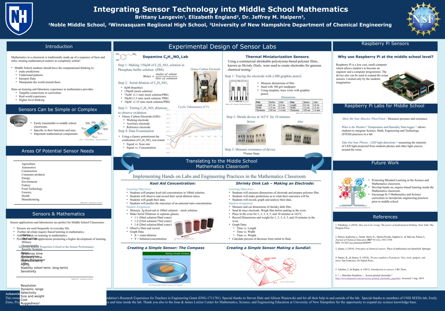 Integrating Sensor Technology Into Middle School Mathematics by bml1019
