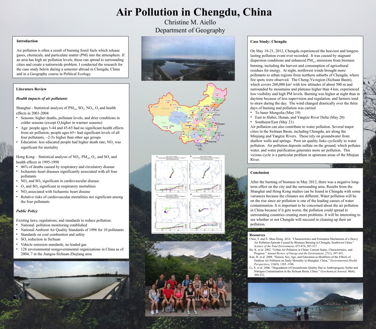 Air Pollution In Chengdu, China by cma2006