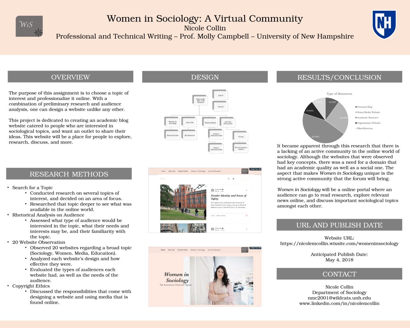 Women In Sociology: A Virtual Community by nmc2001