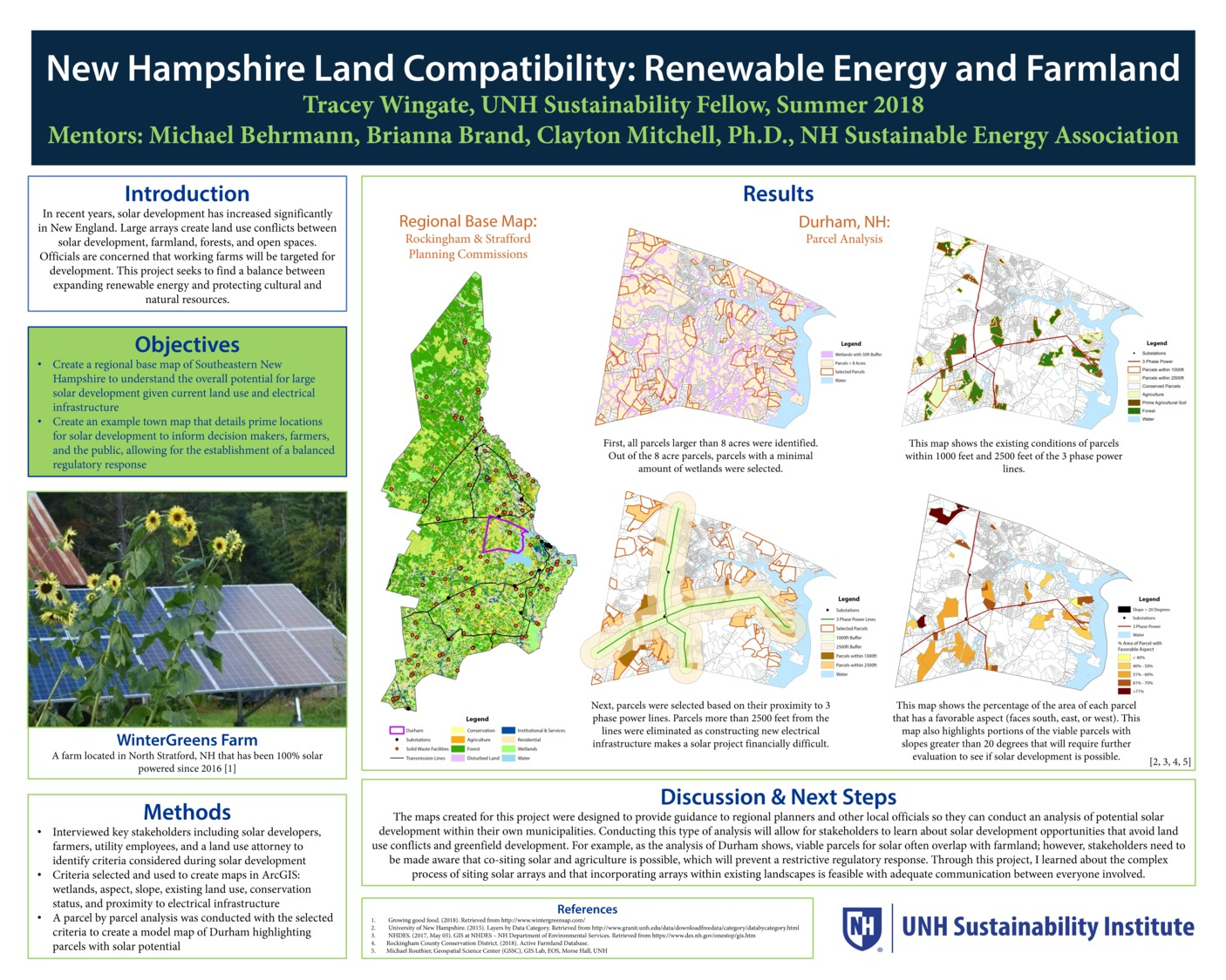 New Hampshire Land Compatibility: Renewable Energy And Farm Land by twingate