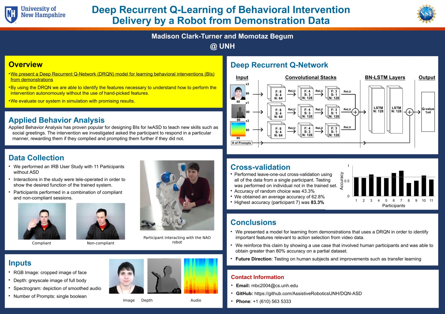 Deep Recurrent Q-Learning Of Behavioral Intervention  Delivery By A Robot From Demonstration Data  by mbc2004